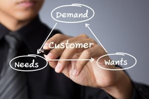 A-business-man-writing-concepts-related-to-keeping-a-customer-satisfied-800x533