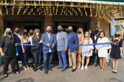 Ribbon cutting for Rainbow Club Casino
