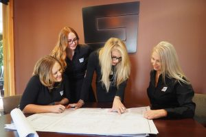 The C and S Company, Inc Team going over plans
